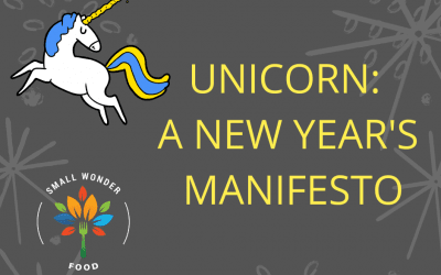 Unicorn: A New Year's Manifesto